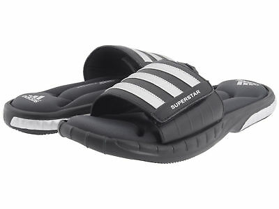 sneakers for cheap cde5a c3910 NEW** MEN'S ADIDAS Superstar 3G Black Slides Athletic Sport Sandals G40165