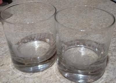 2 New Cooper & Thief Cellar Masters Etched Wine Glasses 10 Oz