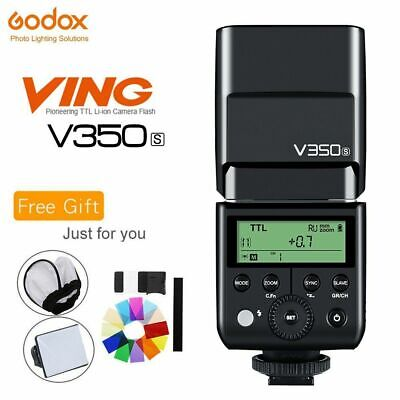 Godox V350S TTL HSS 1/8000s Speedlite Flash With Built-in 2000mAh Li-ion Battery