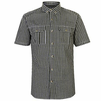 Regatta Rainor Everyday Shirt Mens Gents Short Sleeve Ventilated Cotton Button