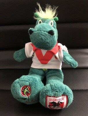 St George Illawarra Dragons Plush Toy Collectable NRL merchandise 2004 Vintage