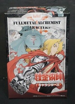 Full-metal Alchemist Character Anime Figure Set of 6 BRAND NEW IN BOXES FREE S&H