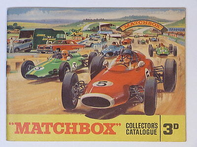 Matchbox Lesney Original Collector´s Catalogue 1965 Katalog 3d !!!