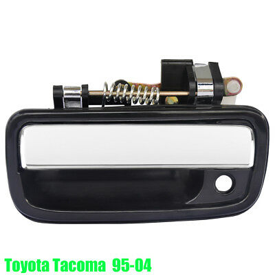 Toyota Tacoma 95-04 Exterior Door Handle Front Left Driver Side Black/Chrome