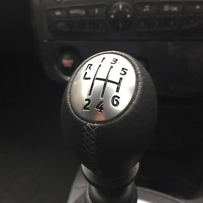 New Genuine Leather Gear Knob Clio Iii Rs Renault Sport 197 200 Cup Bv6 6 Speed