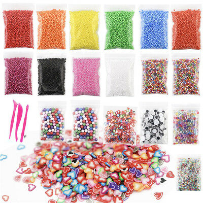 Hot Foam Ball Fishbowl Beads for Crunchy Homemade New Toy Slime DIY Crafts Party