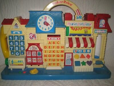 Fisher Price Vintage Activity Center 70 er Jahre