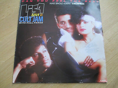 """Vinyl 12"""",  Lisa Lisa & Cult Jam With Full Force – Can You Feel The Beat, 1985"""