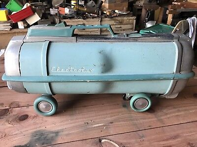 Vintage Electrolux Automatic G Canister Vacuum Cleaner Blue Works No Hoses