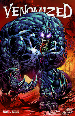 Venomized 1 Mike Deodato Venom Exclusive Variant Spider-Man 3000 Print Run Nm