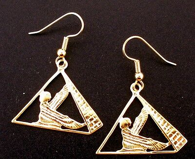 egyptian earrings egypt egyptians did in the jewelry clothing ancient dress how and