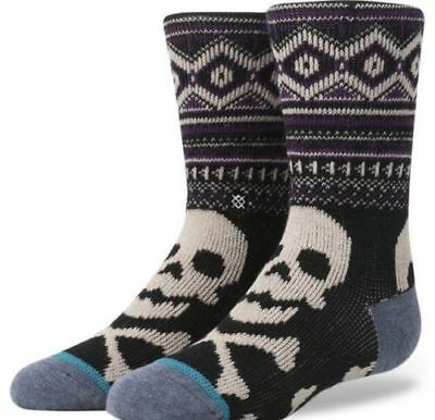 AUTHENTIC! Stance TOXIC Kids Crew Socks Youth Size L(2-5.5)