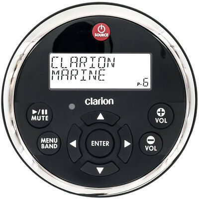 Clarion MW1 Watertight Wired Remote w/2 Line LCD MW1