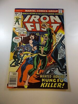 Iron Fist #10 VG+ condition Free shipping on orders over $100.00!