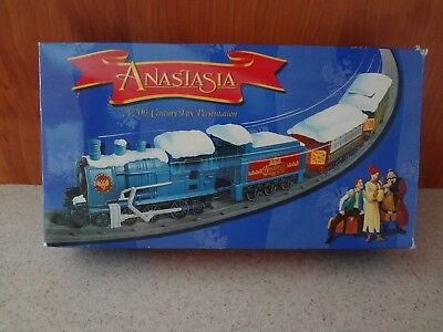 Collectible Anastasia Train Set Battery Operated W/box