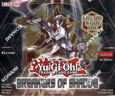 Yugioh Breakers Of Shadow 1St Edition Booster Box Blowout Cards
