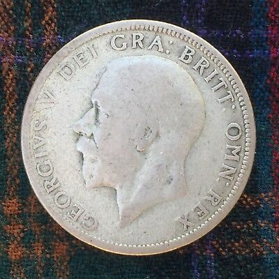 UK / Great Britain Florin 1928, George V - Silver