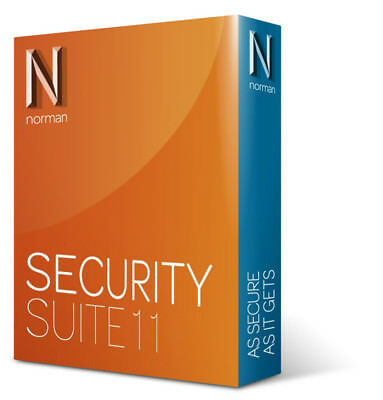 Norman Antivirus & Security Suite 11 1 PC Users 1 Year Retail License.