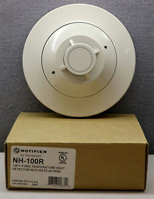 Honeywell NH-100R Notifier Rate-of-Rise Temperature Heat Detector New