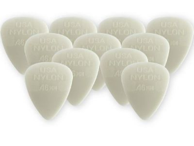 Dunlop 44P.46 Nylon Standard .46mm Player Pack of 12 Guitar Picks