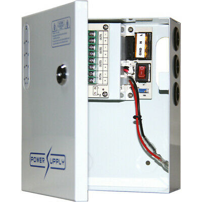 PWU0412W05 DOSS 4 Way 12V DC 5A Power Supply With UPS Pfc Surge Protection