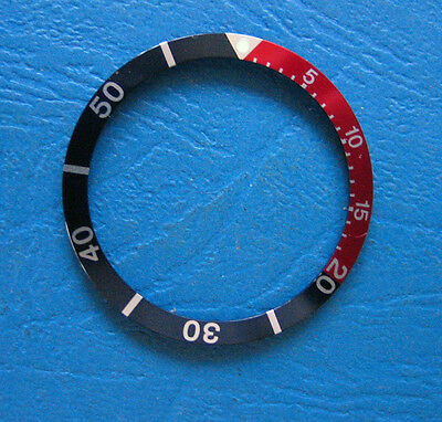 RED-BLUE (Pepsi) BEZEL  made for CITIZEN DIVER 8200 Automatic New