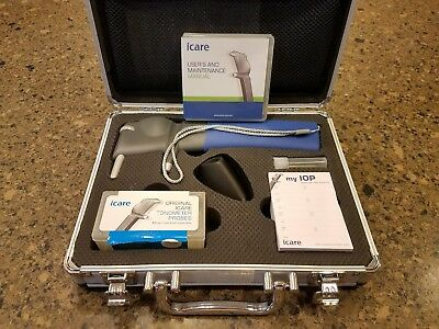 iCare Tonometer: , used in a remote practice only 3 times.