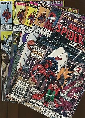 Amazing Spider-Man 314,318,319,320,321,322 ~ 6 Book Lot * Todd McFarlane Issues!
