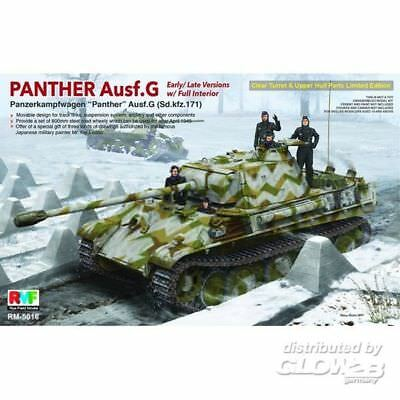 Rye Field Model RM-5016 Panther Ausf.G w/Interior Limited Editio mit Inneneinric