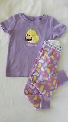 Old Navy Baby Chic n Jelly Bean Easter Pjs Sz 18-24m Vvguc