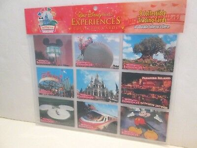 Walt Disney World Experiences Collector Trading Cards Four Parks One World
