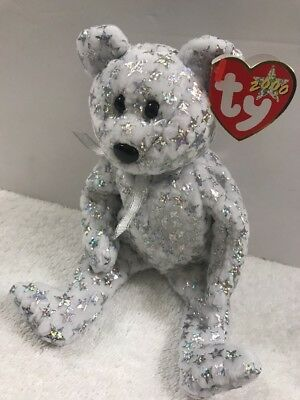 TY Beanie Baby - THE BEGINNING BEAR (8.5 inch) - MWMTs Stuffed Animal Toy