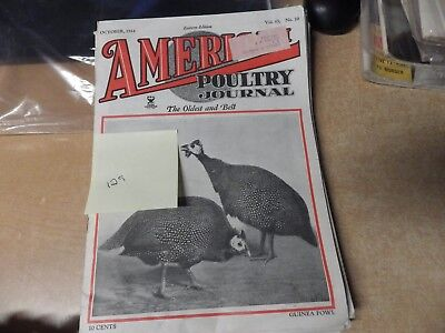 LOT OF 11 VINTAGE 1930'S 1940'S American Poultry Journals FARMING CHICKENS EGG 1