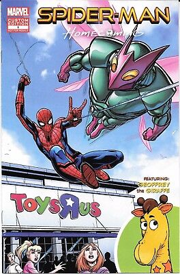 Spider-Man Homecoming Fight Or Flight #1 Toys R Us Custom Comic Nm Very Rare
