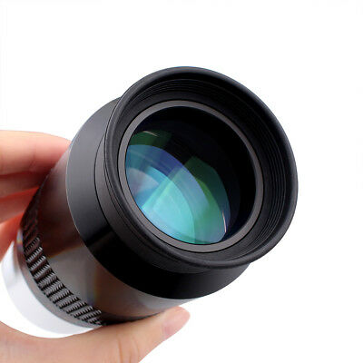 New  GSO 2'' Superview 50mm Wide Field 60Degree FMC Eyepiece for Telescope