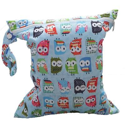 Comfortable Zip Wet Dry Bag Baby Infant Cloth Diaper Nappy Pouch Reusable