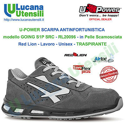 quality design 0419f bd74d U-POWER SCARPA ANTINFORTUNISTICA mod GOING S1P SRC RL20096 upower Lavoro  Unisex