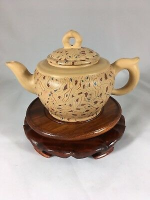Tri Color Yixing teapot