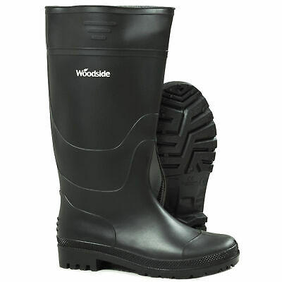 Woodside Waterproof Wellington Garden Muck Field Boots Mens & Ladies Wellies