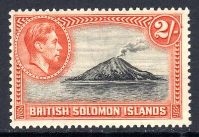British Solomon Islands KGVI 1939-51  2s Tinakula Volcano SG69 LM/Mint