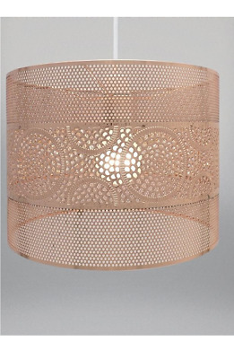Cheapest next blossom easy fit pendant ceiling light shade gold new copper rose gold ceiling pendant light shade easy fit metal decorative lamp aloadofball Images