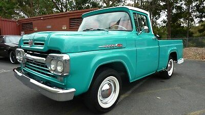 1960 Ford F-100 Pick Up Truck, Not A Camaro, Chevelle, Belair Gm, Falcon Mustang