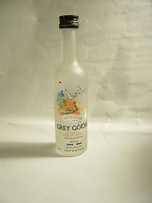 1  GREY GOOSE le melon BEAUTIFUL  MINI  Empty Bottle 50 ML for collectible