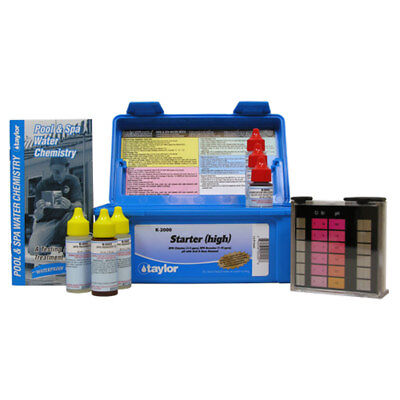 Taylor K-2000 Dpd Chlorine Bromine Ph Swimming Pool Water Test Kit