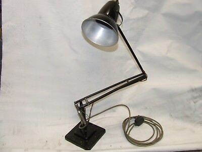 Anglepoise Lamp by Herbert Terry. Model 1227. 1938. Original paint.