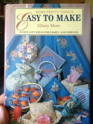 """More Pretty Things To Make"" Gift Ideas Crafting Sewing Arts Crafts Photo Album"
