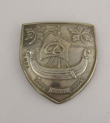 Large Silver Nurses Buckle For The University College Hospital London, 1938