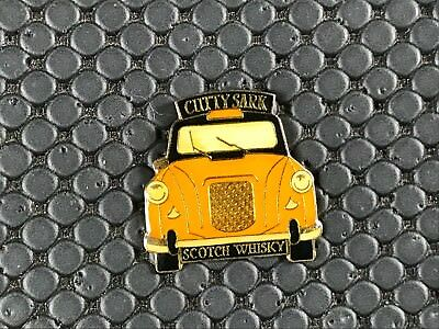 Pins Pin Badge Alcool Alcohol  Whisky Whiskey Cutty Sark Taxi