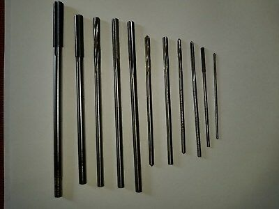 Vintage Small Ø Reamers, 11Pc Lot, Free Shipping