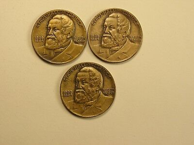 1931 Cyrus Hall McCormick Lot of (3) International Harvester HK 460 Reaper Medal